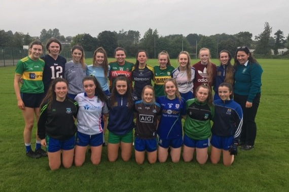 Girls Gaelic Football is up and running for the new academic year.